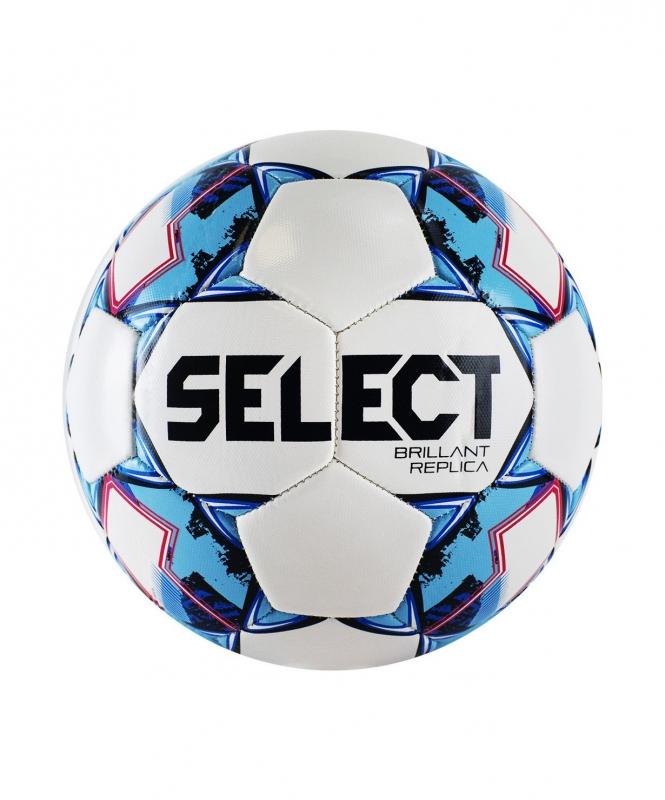 Мяч футбольный BRILLANT REPLICA, №5, бел/гол/крас, Select