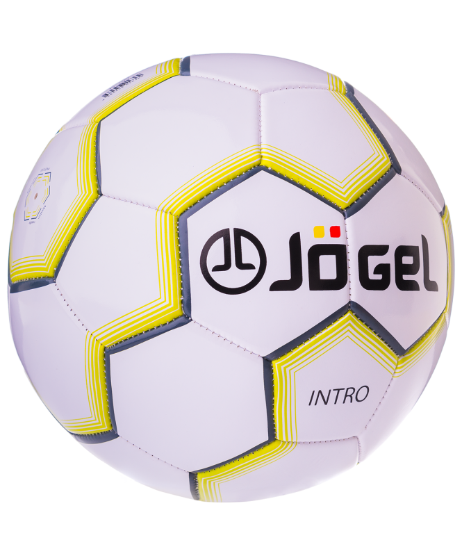 Мяч футбольный JS-100 Intro №5, белый, Jögel