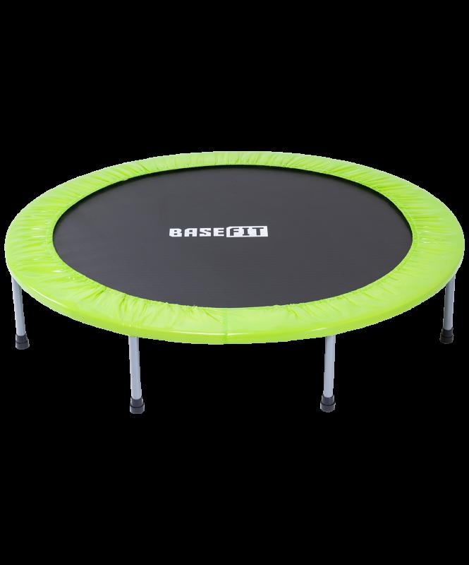 Батут TR-102 127 см, зеленый, BaseFit