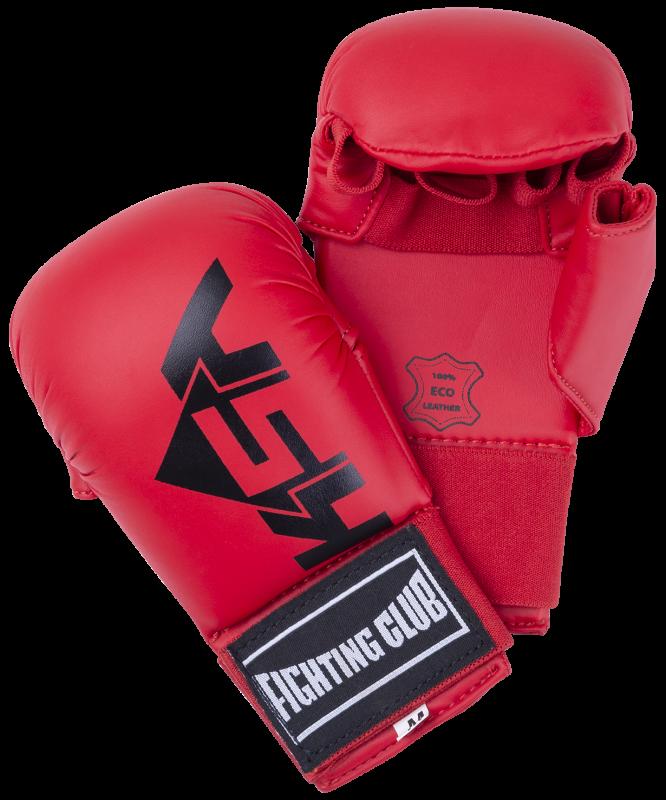 Накладки для карате Kick Red, к/з, KSA