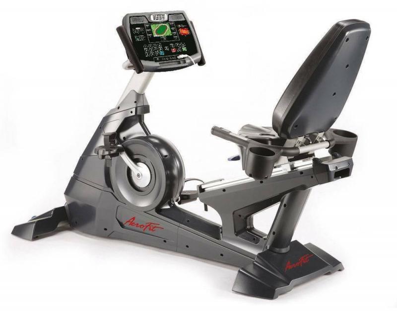 Профессиональный велотренажер AeroFit 9500R 7LCD