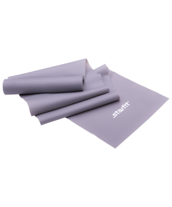 Эспандер ленточный для йоги ES-201, 1200х150х0,55 мм, серый, Starfit