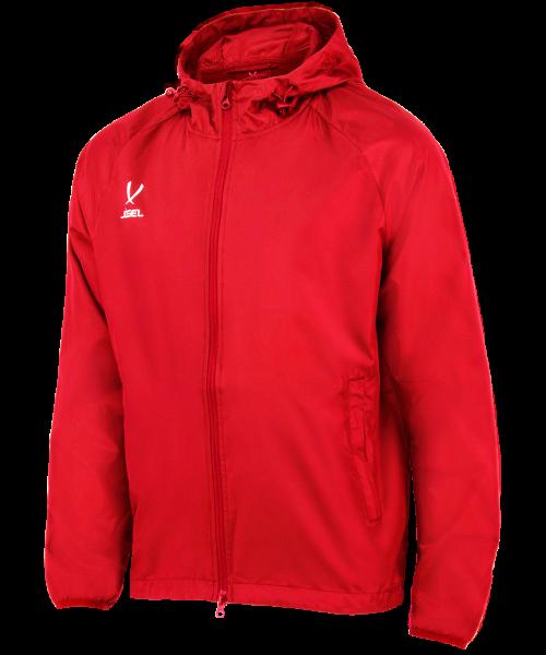 Куртка ветрозащитная Jögel CAMP Rain Jacket, красный, детская