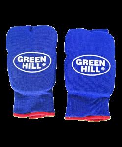 Накладки на кисть эластик HP-6133, хлопок, синий, Green Hill