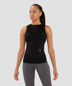 Женская майка Essential Knit black FA-WA-0203-BLK, черный, FIFTY