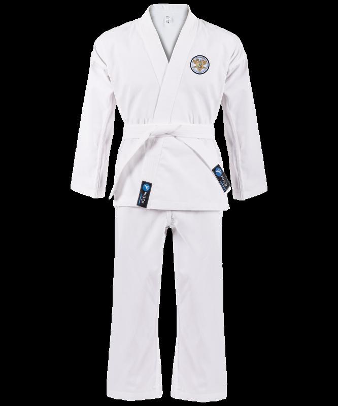 Кимоно для рукопашного боя Classic, белый, р. 3/160, Rusco