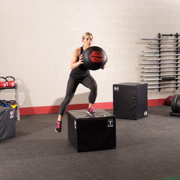 Тренировочный мяч мягкий WALL BALL 7,3 кг (16lb) Body-Solid BSTSMB16