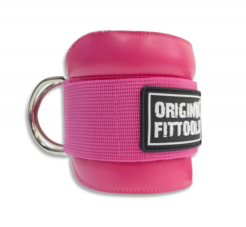Ремень регулируемый для тренировки мышц бедра и ягодиц розовый Original FitTools FT-AS04-PU (PK)