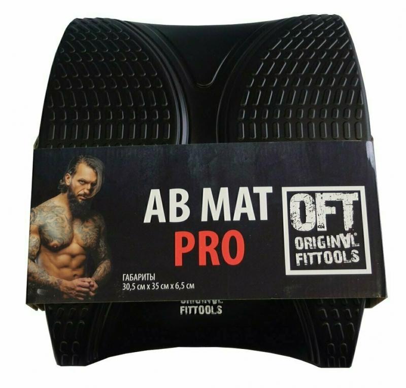 Подушка для спины AB Mat 36x30x8 см Original FitTools FT-WSTC-B