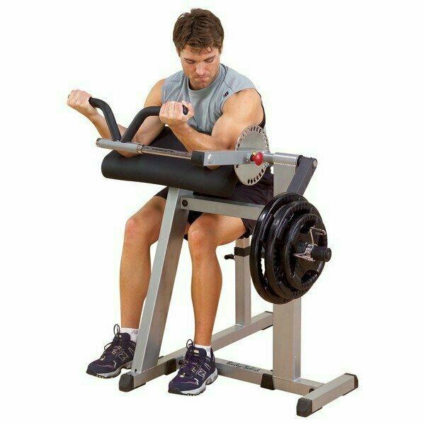 Тренажер бицепс-трицепс на свободных весах Body-Solid GCBT380