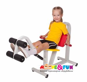 Детский тренажер Разгибание ног Moove&Fun MF-E01