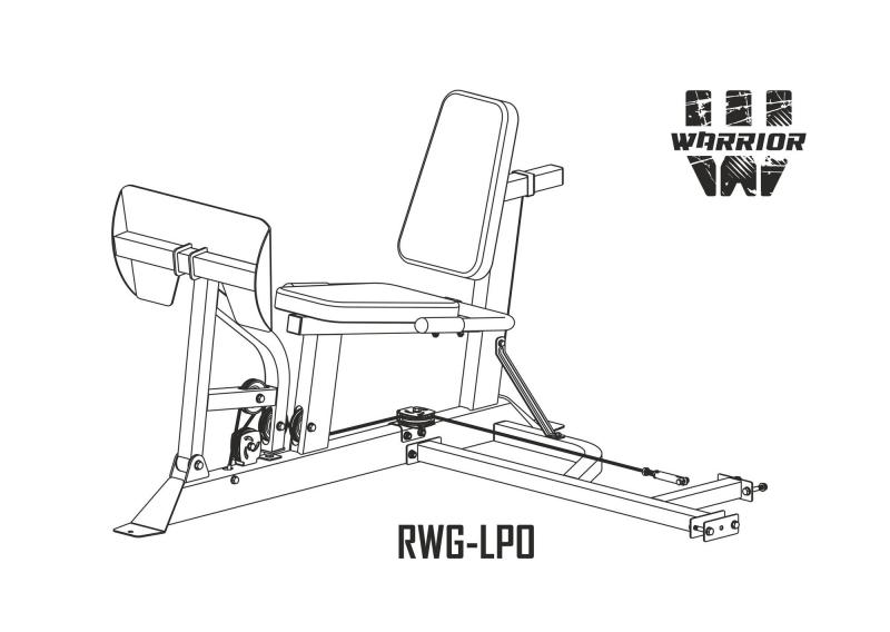 Жим ногами Опция для REBEL WARRIOR RWG-LPO