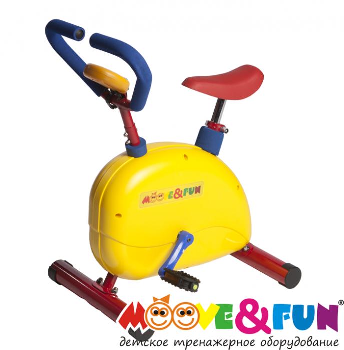 Детский велотренажер с компьютером Moove&Fun SH-02C