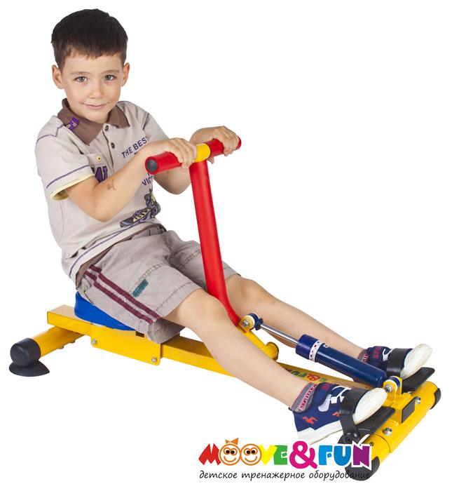 Детский гребной тренажер с одной рукояткой Moove&Fun SH-04-A