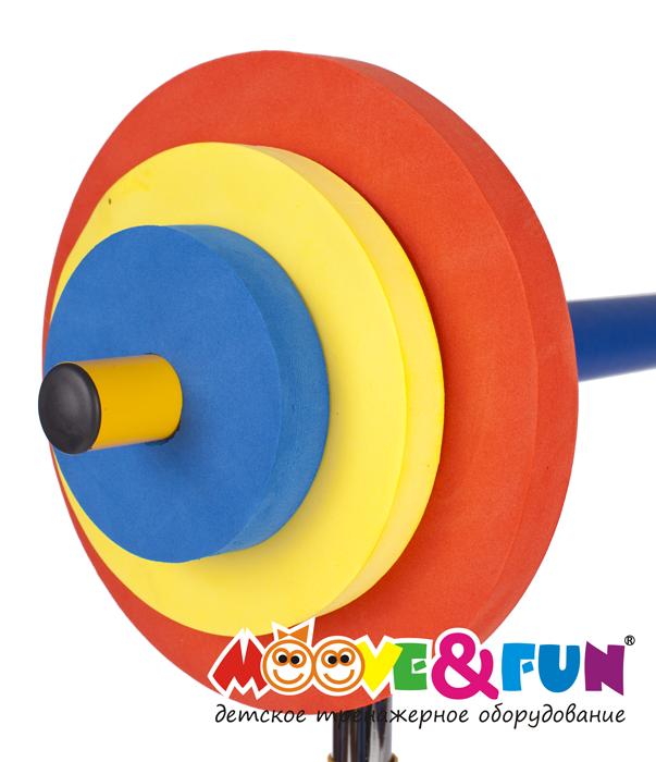 Детская скамья для жима со штангой Moove&Fun SH-06
