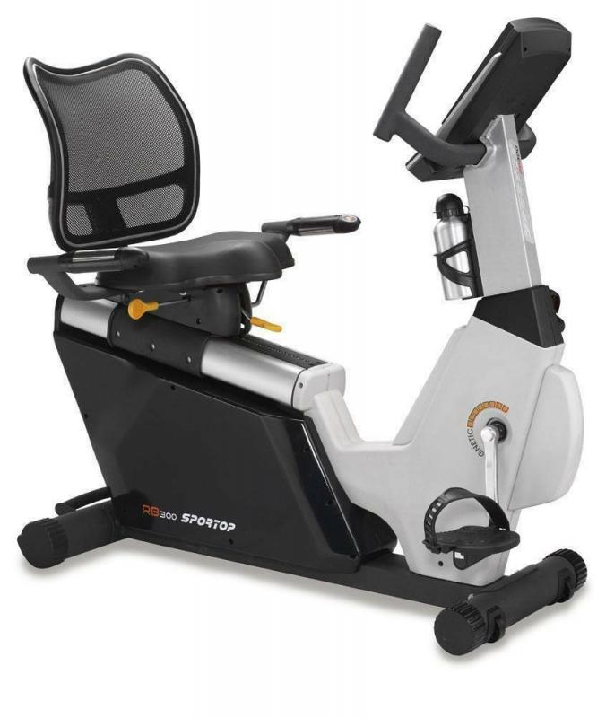 Горизонтальный велотренажер AeroFit Sportop RB300