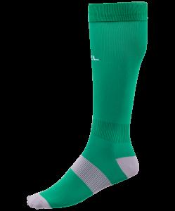 Гетры футбольные Essential JA-006, зеленый/серый, Jögel