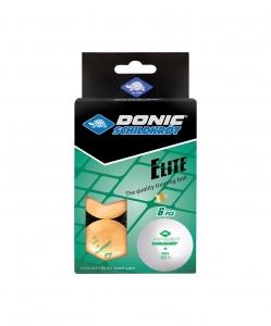 Мяч для настольного тенниса 1* Elite, 6 шт., оранжевый, DONIC