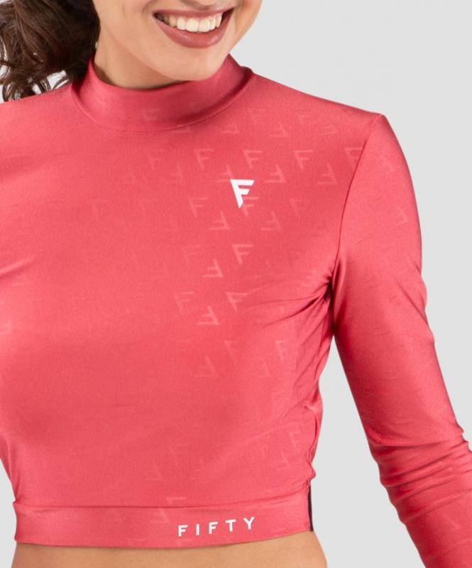 Женская футболка с длинным рукавом Majesty  magenta FA-WL-0201-MGT, пурпурный, FIFTY
