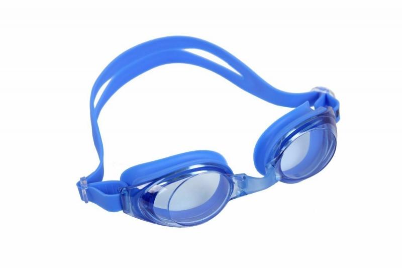 "Очки для плавания, серия ""Регуляр"", синие, цвет линзы - синий BRADEX SF 0393"