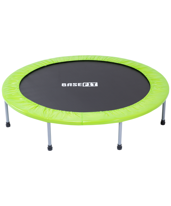 Батут TR-102 114 см, зеленый, BaseFit