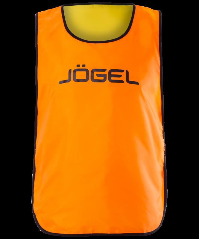 Манишка двухсторонняя Reversible Bib,  оранжевый/лаймовый, Jögel
