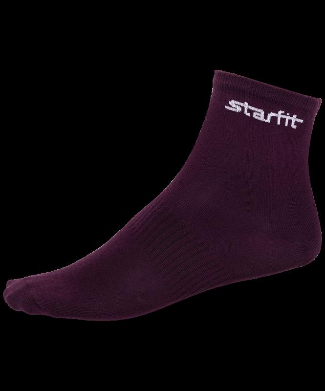 Носки средние SW-206, бордовый/серый меланж, 2 пары, Starfit