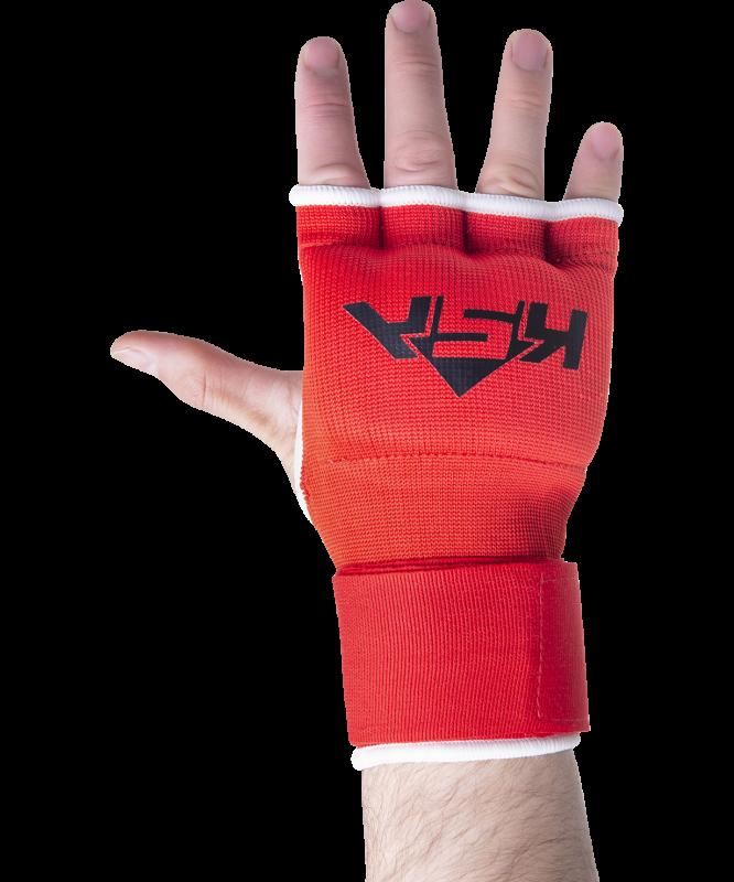 Внутренние перчатки для бокса Cobra Red, M, KSA