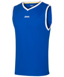 Майка баскетбольная JBT-1020-071, синий/белый, детская, Jögel
