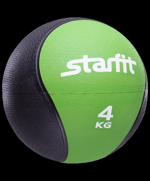 Медбол PRO GB-702, 4 кг, зеленый, Starfit