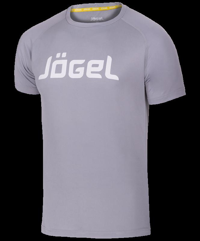 Футболка тренировочная JTT-1041-081, полиэстер, серый/белый, детская, Jögel