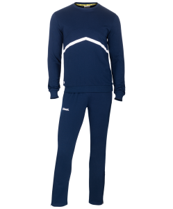 Тренировочный костюм JCS-4201-091, хлопок, темно-синий/белый, Jögel