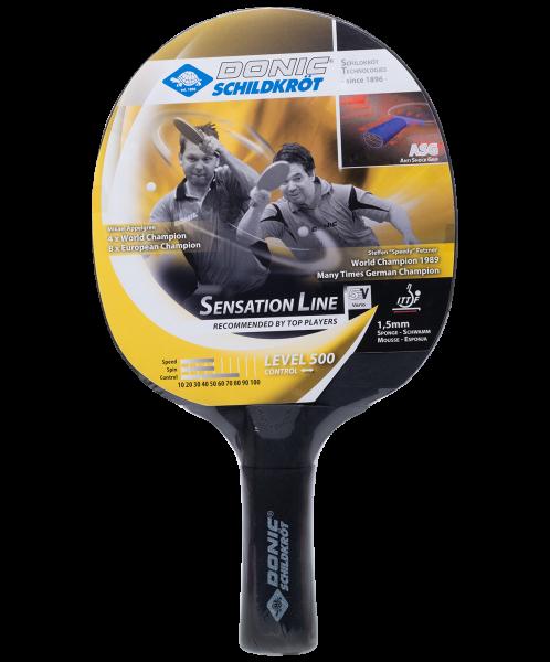 Ракетка для настольного тенниса Sensation Line Level 500, Donic