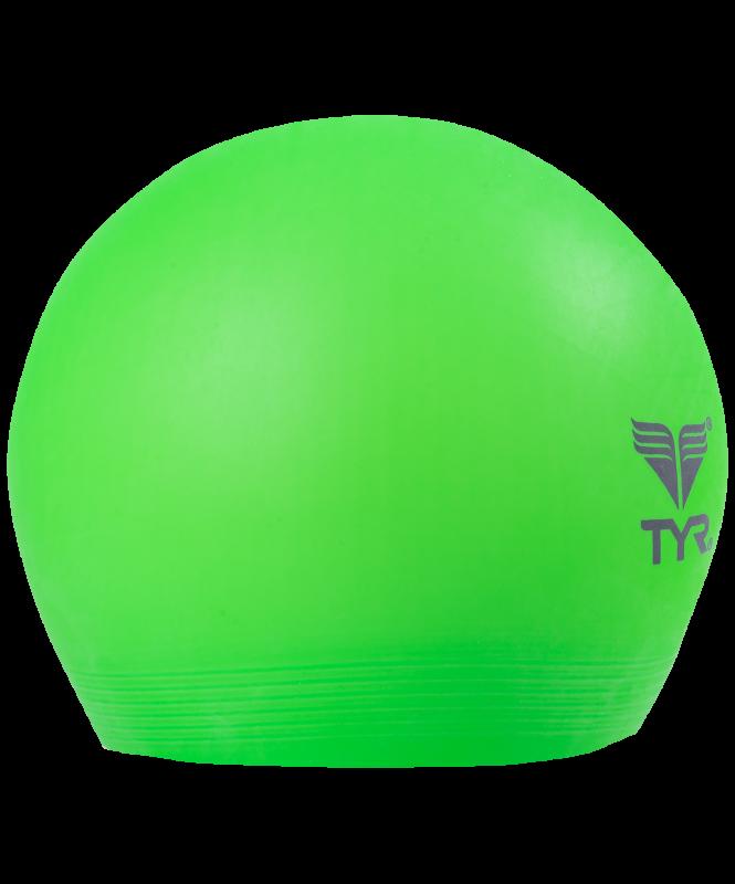 Шапочка для плавания Latex Swim Cap, латекс, LCL/322, зеленый, TYR
