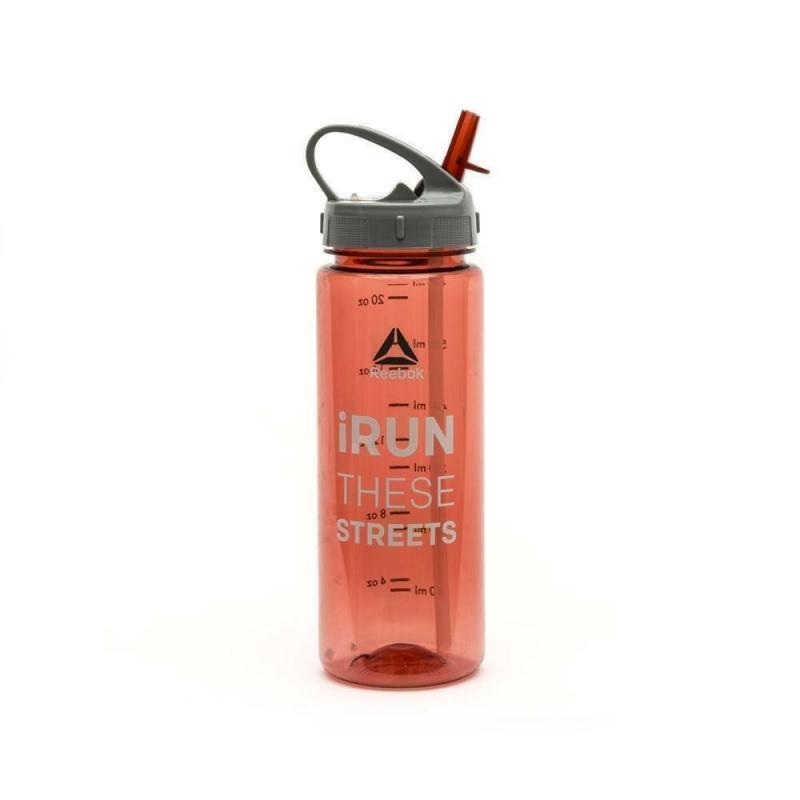 "Бутылка для воды Reebok 0,65 Red ""iRun These Streets"""
