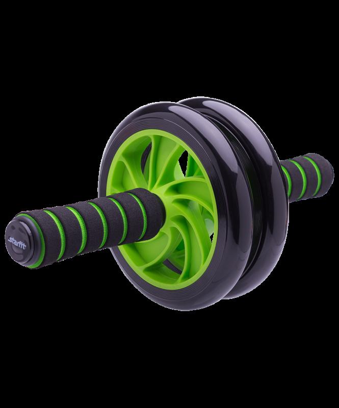 Ролик для пресса RL-102 PRO, зеленый/черный, Starfit
