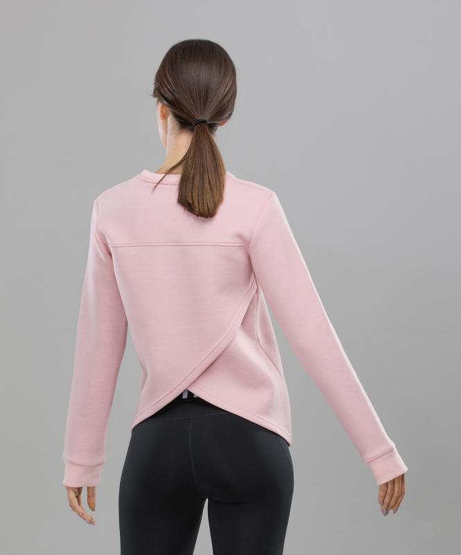 Женский спортивный свитшот Balance FA-WJ-0102, розовый, FIFTY