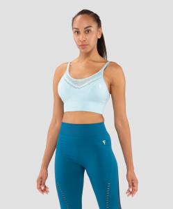 Женский бра-топ Essential Knit light blue FA-WB-0202-LBL, голубой, FIFTY