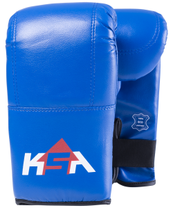 Перчатки снарядные Bull Blue, к/з, S, KSA