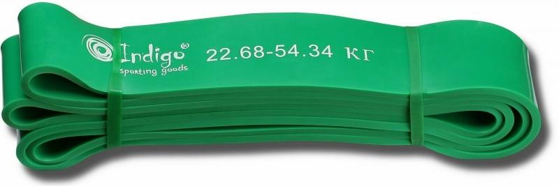 Резиновая петля для кроссфит INDIGO нагрузка 22-54 кг.