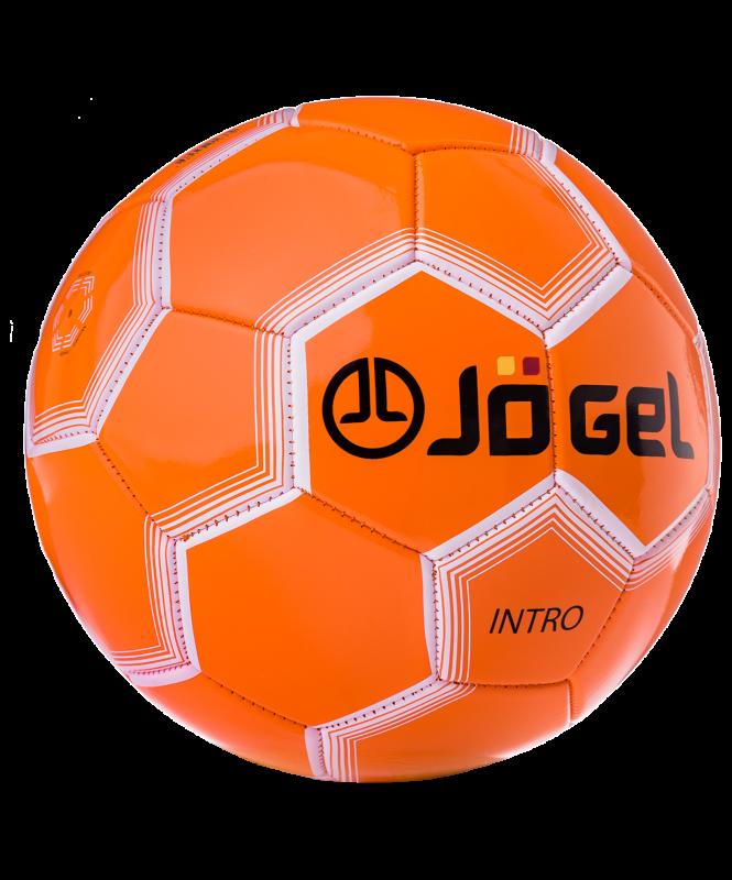 Мяч футбольный JS-100 Intro №5, оранжевый, Jögel