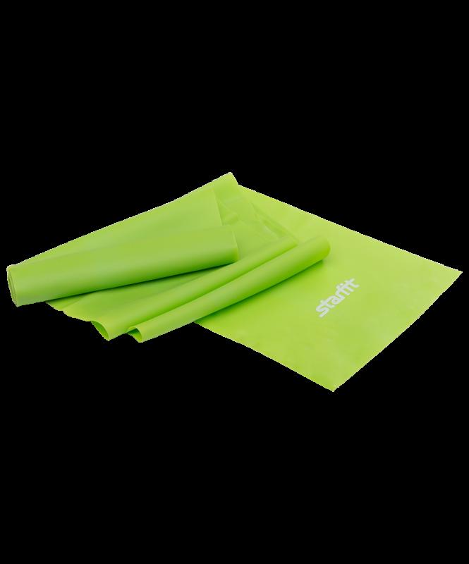 Эспандер ленточный для йоги ES-201 1200х150х0,35 мм, зеленый, Starfit