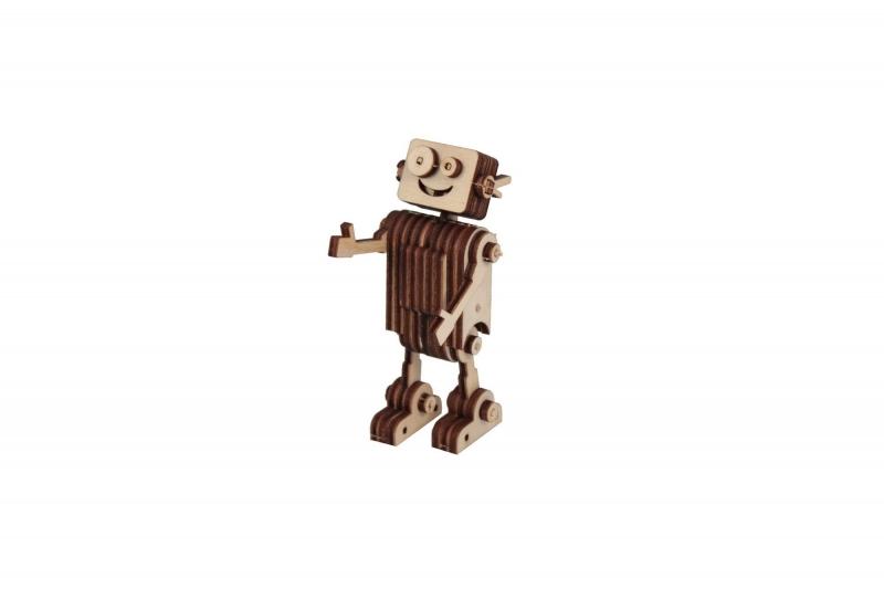Деревянный 3Д-пазл «РОБОТ» BRADEX DE 0689