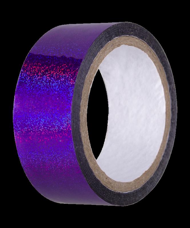Скотч-лента для художественной гимнастики AGS-301 20 мм*15 м, фиолетовый, Amely