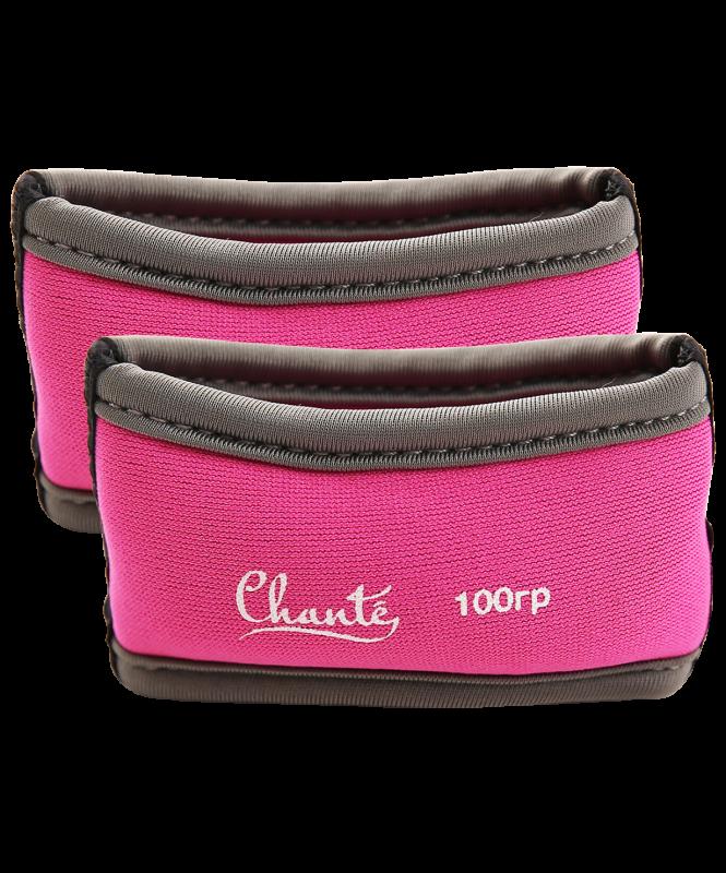 Утяжелители для художественной гимнастики Phenomen, 100 гр, розовые, Chanté