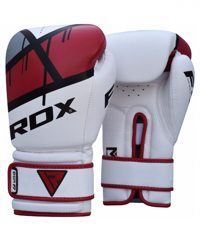 Перчатки боксерские BGR-F7 RED BGR-F7R, 10 oz, RDX