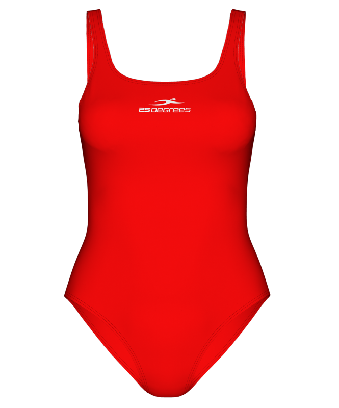 Купальник для плавания Pulse Red, полиамид, 25Degrees