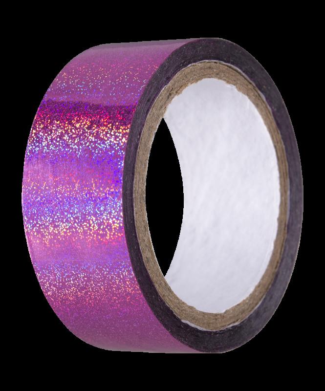 Скотч-лента для художественной гимнастики AGS-301 20 мм*15 м, розовый, Amely