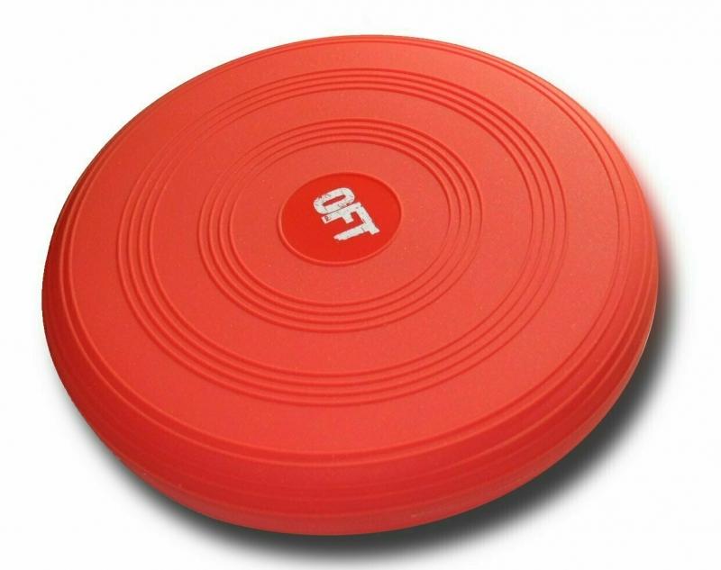 Балансировочная подушка FT-BPD02-RED (цвет - красный) Original FitTools