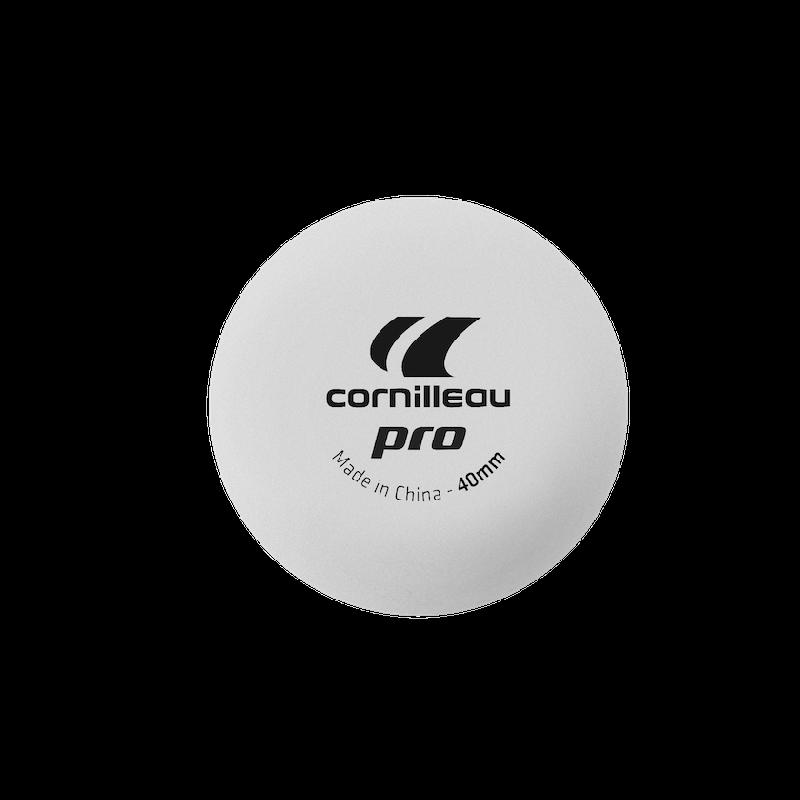 Мяч для настольного тенниса Cornillleau PRO 1* Белые 6 шт.